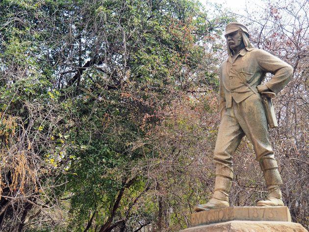 David Livingstone Victoria Falls Zimbabwe