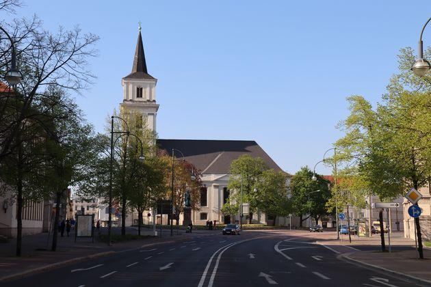 Dessau-straatbeeld