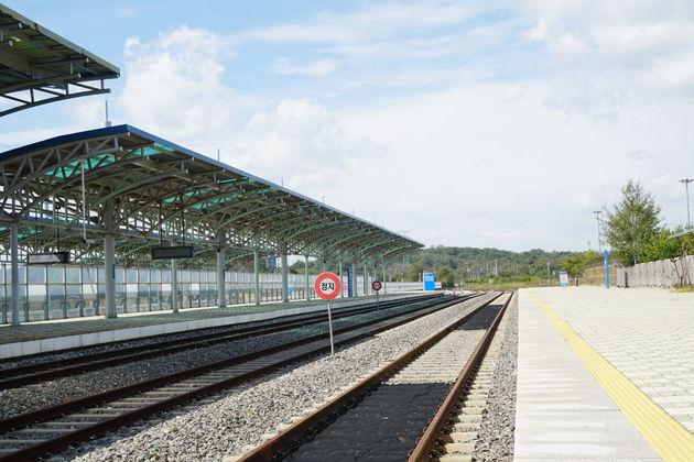 dmz dorasan station 9