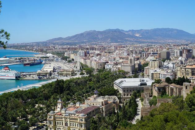 Uitzicht over de oude historische stad