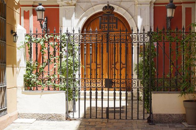 Schattige poort malaga