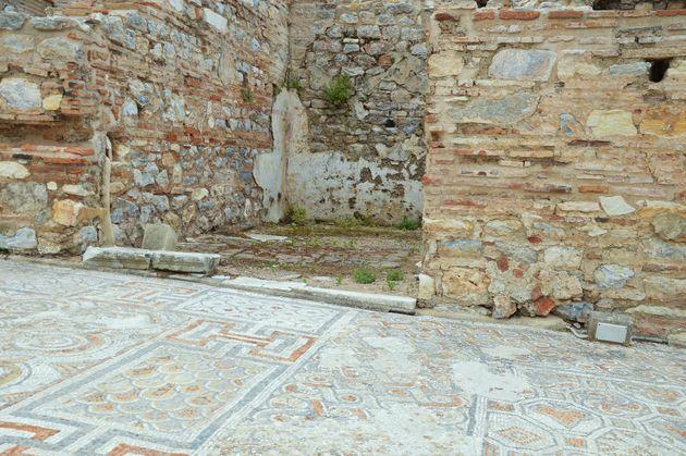 efeze-mozaïek-opgravingen.