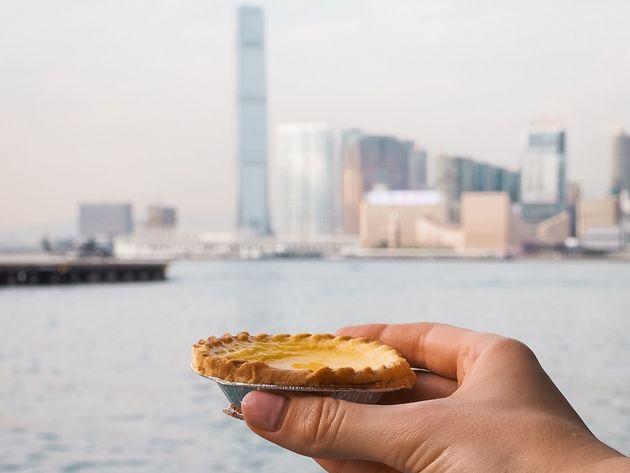 Egg tart Hong Kong