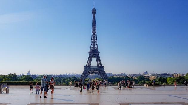 Eiffeltoren-Trocadero-parijs