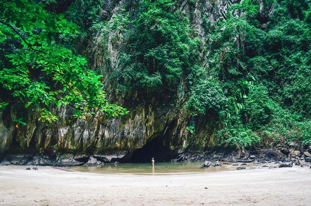 emerald-cave