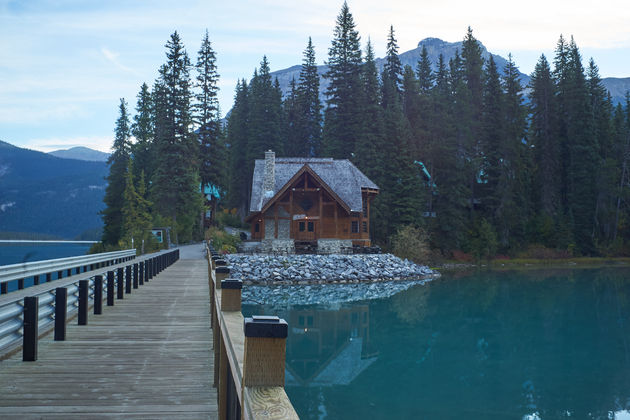 Emerald Lake Rockies
