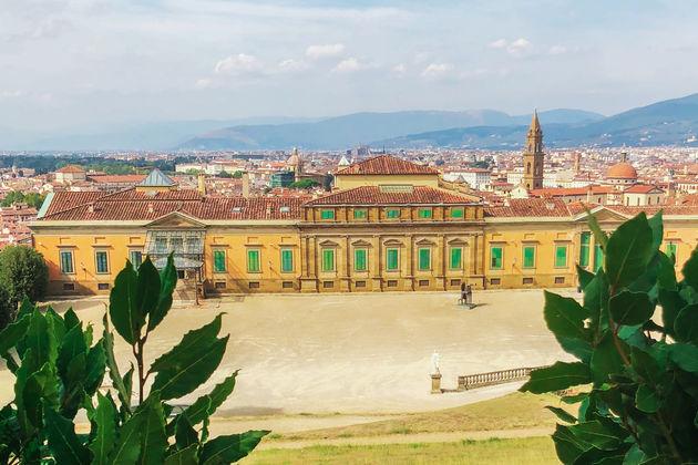 Florence- Palazzo-Pitti