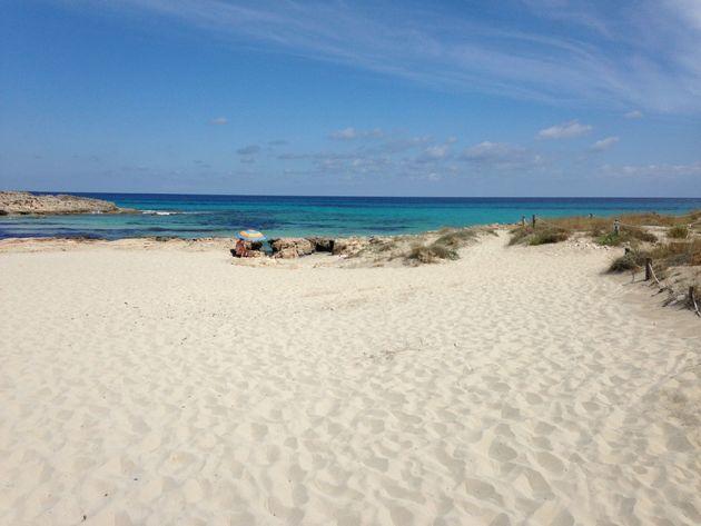 Formentera-strand-rustig