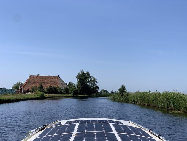 Friesland boot huren elektrisch
