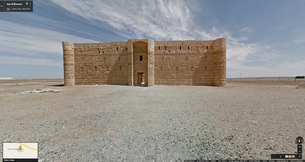Google Street View Qasr Kharana
