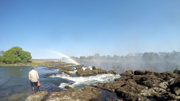 Touwen Zambezi rivier
