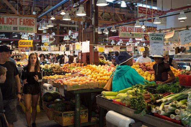 Granville Island markt