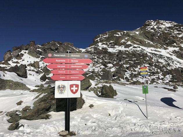 Grens Oostenrijk en Zwitserland