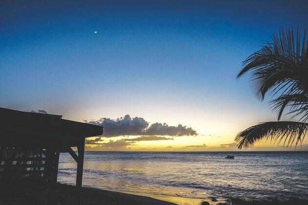 guadeloupe-foto-zonsondergang