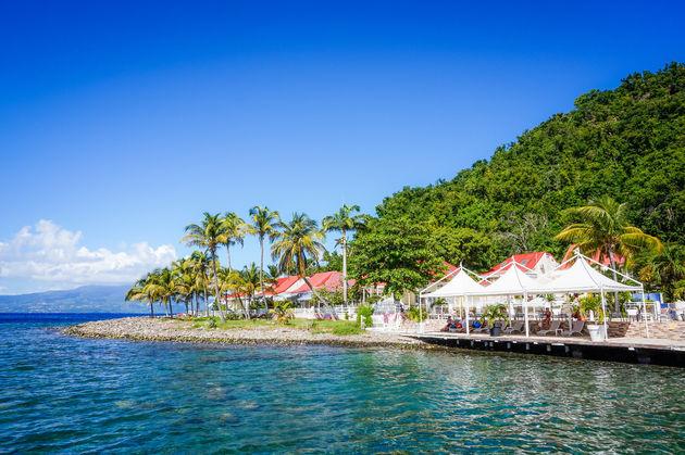 guadeloupe-huisjes-zee