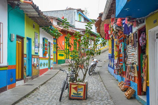 guatape-straat