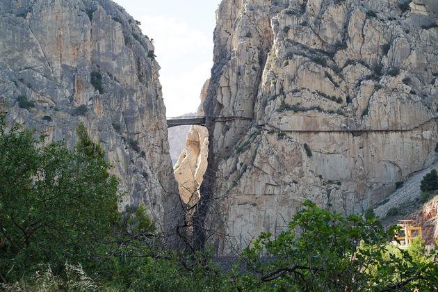Hangbrug Caminito del rey