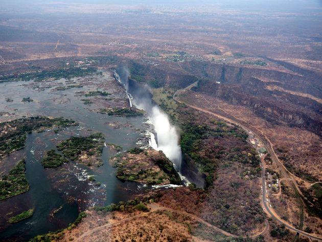 Helikoptervlucht Victoria Falls (1)