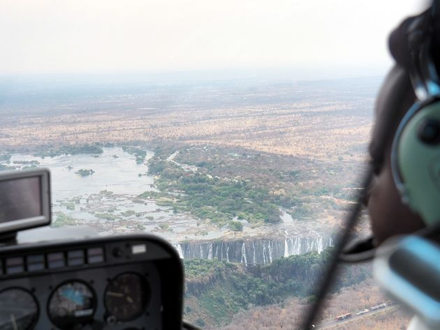 Helikoptervlucht Victoria Falls (14)