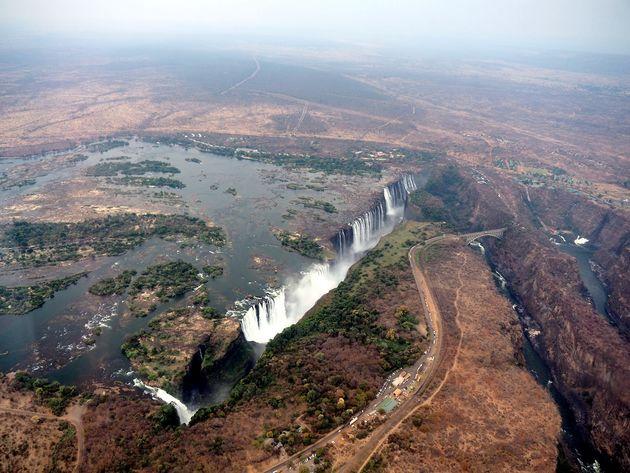 Helikoptervlucht Victoria Falls (2)