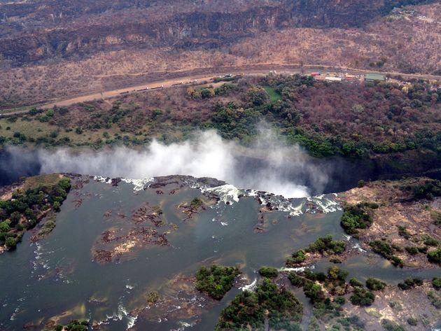 Helikoptervlucht Victoria Falls (7)