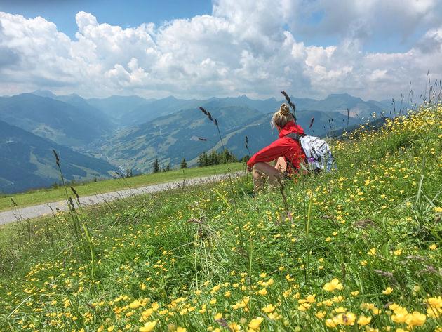 hiken-saalbach-zomer