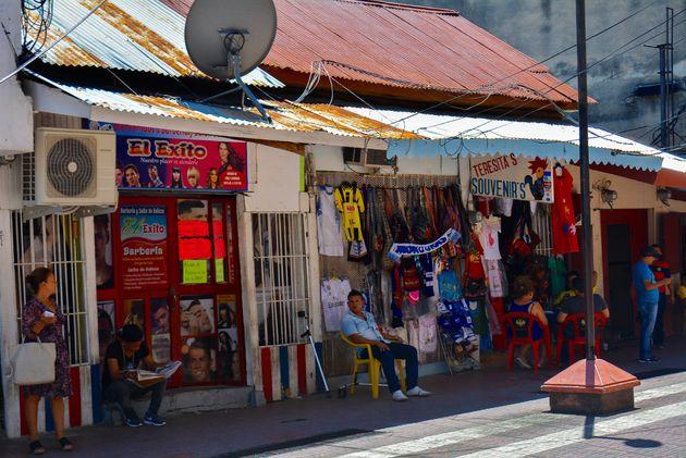 honduras-San-Pedro-Sula-straat