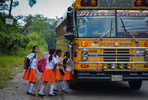 honduras-schoolmeisjes