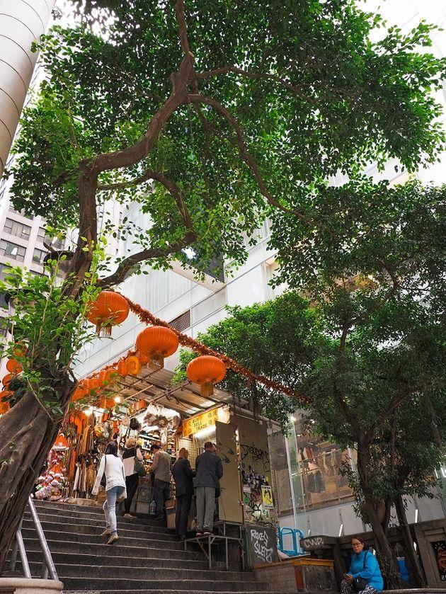 Hong Kong Island marktje