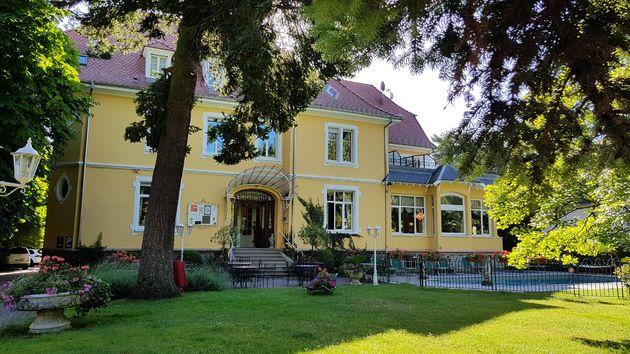 Hotel du Parc tuin Thann