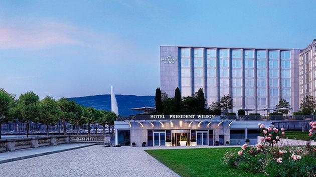 Hotel President Wilson Entree