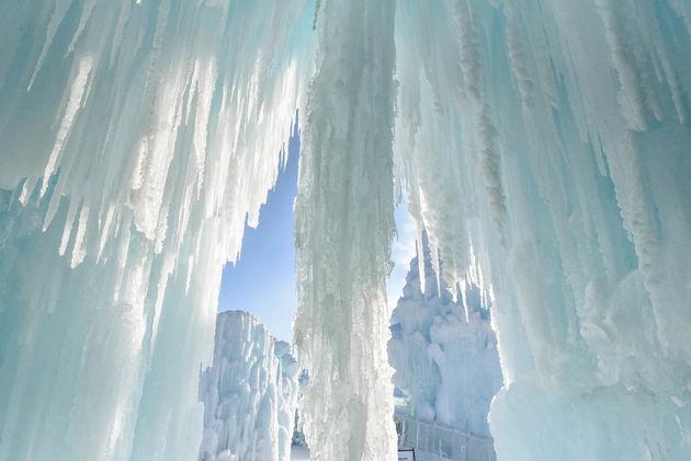 ijspegels-ice-castles
