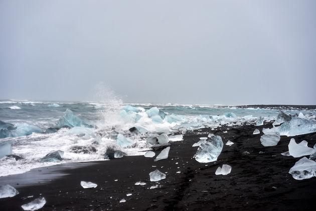 ijsrotsen ijsland