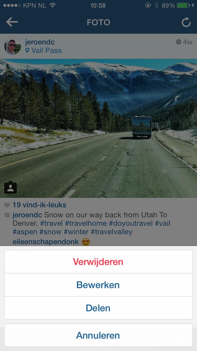instagram-bewerken