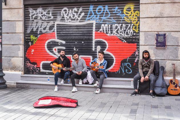 istanbul-straatmuziekanten