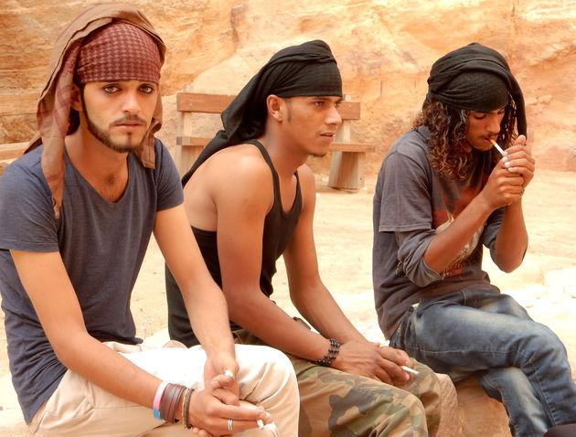 jordanië-Bedoeïen-jongens
