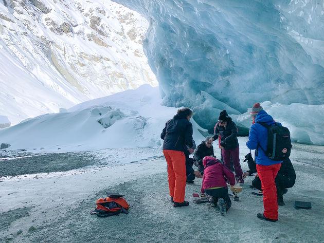 kaasfondue-zinal-gletsjer