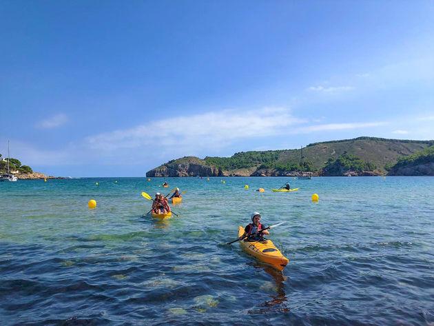 kajakken-zee-costa-brava