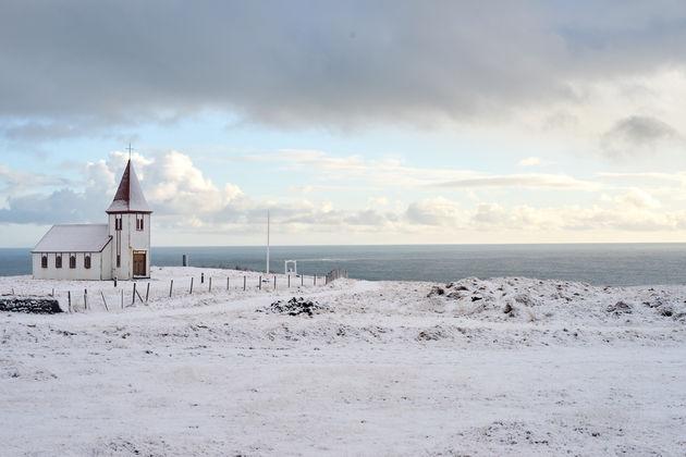 Kerkje Snaefellsnes ijsland