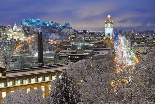 kerst-edinburgh