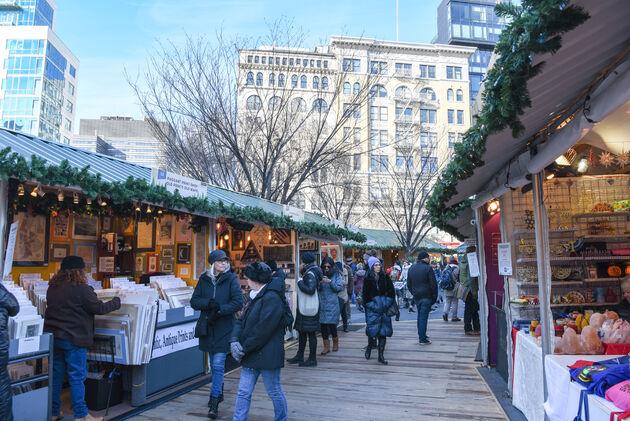 kerstmarkt-union-square