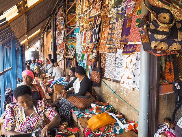Kigali Kimironko Market naaisters