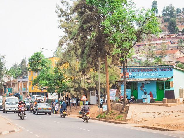 Kigali Kimisagura straatbeeld