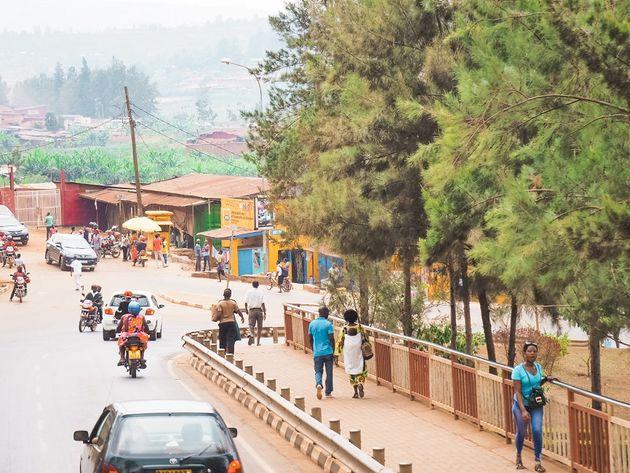 Kigali straatbeeld
