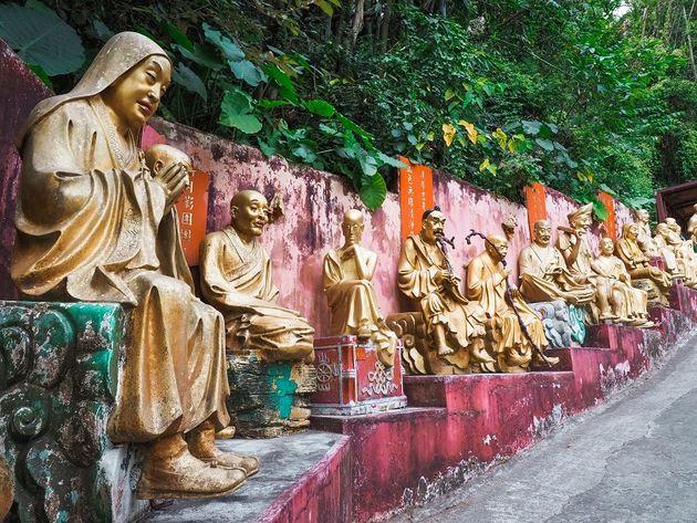 Klooster van de Tienduizend Boeddhas Hongkong