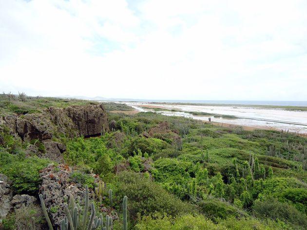 Uitzicht Kueba di Pachi