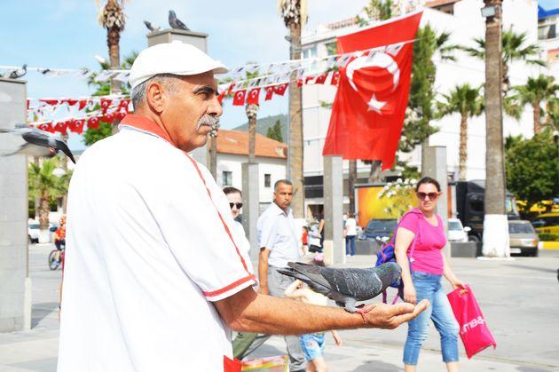 Kusadasi-turkije-man