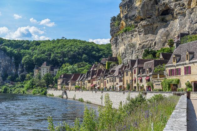La-Roque-Gageac-huizen