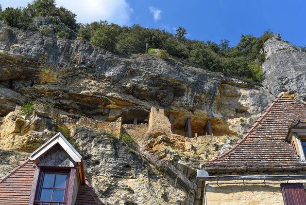 La-Roque-Gageac-rotsen