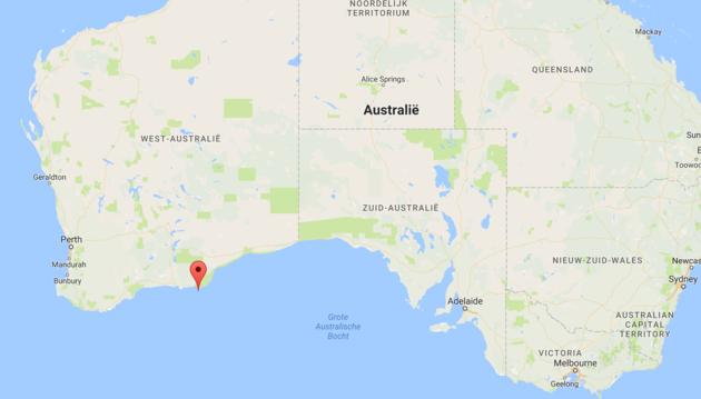 lake-hillier-west-australië